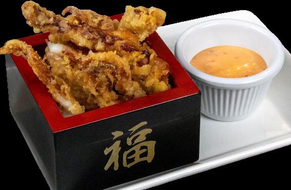 Calamari with Spicy Mayo